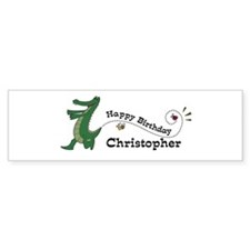 Happy Birthday Christopher (g Bumper Bumper Sticker