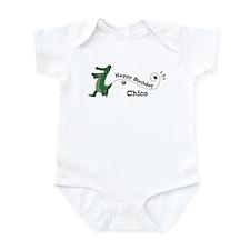 Happy Birthday Chico (gator) Infant Bodysuit