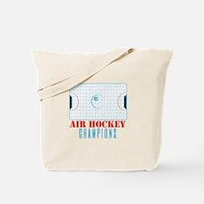 Air Hockey Champions Tote Bag