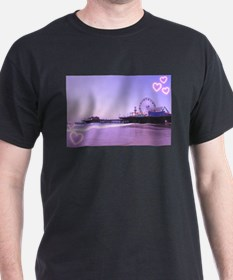 Purple Hearts Pier T-Shirt