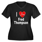 I Love Fred Thompson (Front) Women's Plus Size V-N