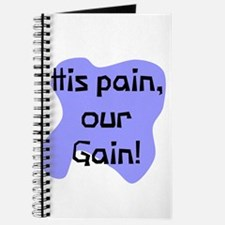 His pain our gain Journal