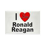I Love Ronald Reagan Rectangle Magnet (10 pack)