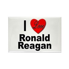 I Love Ronald Reagan Rectangle Magnet (10 pack)