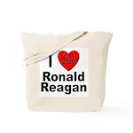 I Love Ronald Reagan Tote Bag