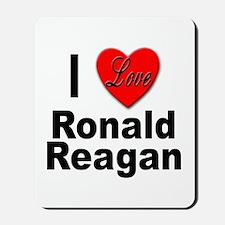 I Love Ronald Reagan Mousepad