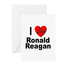 I Love Ronald Reagan Greeting Cards (Pk of 10)