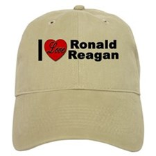 I Love Ronald Reagan Baseball Cap