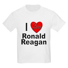 I Love Ronald Reagan (Front) T-Shirt