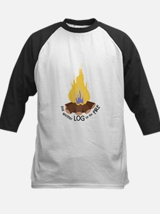 Log On The Fire Baseball Jersey