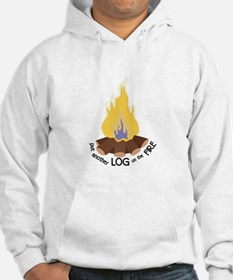 Log On The Fire Hoodie
