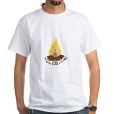 Log On The Fire T-Shirt