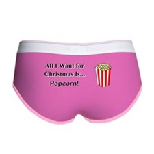 Christmas Popcorn Women's Boy Brief
