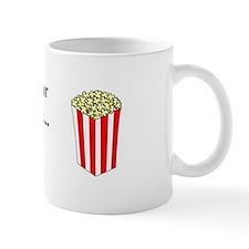 Christmas Popcorn Mug
