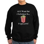 Christmas Popcorn Sweatshirt (dark)