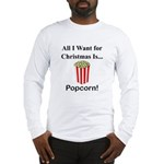 Christmas Popcorn Long Sleeve T-Shirt