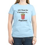 Christmas Popcorn Women's Light T-Shirt