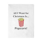Christmas Popcorn Twin Duvet