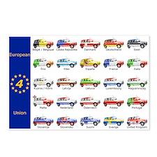 Renault 4-Play European Postcard Pack
