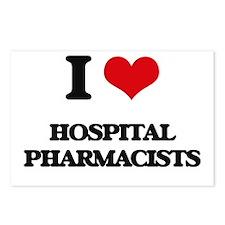 I love Hospital Pharmacis Postcards (Package of 8)