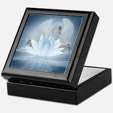 Swan Song Fantasy Art Keepsake Box