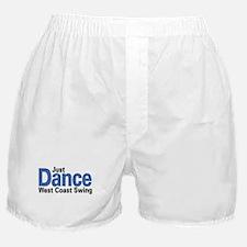 Just Dance West Coast Swing (B) Boxer Shorts