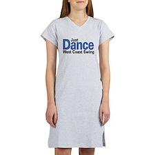Just Dance West Coast Swing (B) Women's Nightshirt