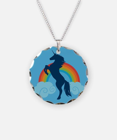 Unicorn Rainbow Fantasy Necklace