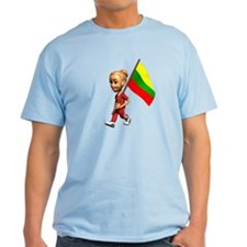 Lithuania Girl T-Shirt