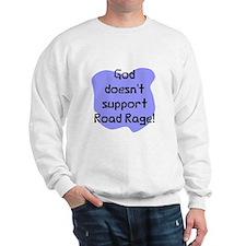 God doesn't road rage Jumper