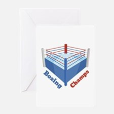 Boxing Champs Greeting Cards