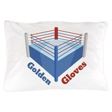 Golden Gloves Pillow Case