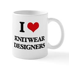 I love Knitwear Designers Mugs