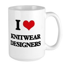I love Knitwear Designers Mugs
