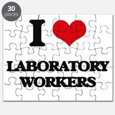 I love Laboratory Workers Puzzle
