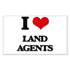 I love Land Agents Decal