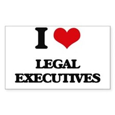 I love Legal Executives Decal