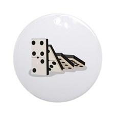 Dominos Ornament (Round)