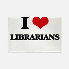 I love Librarians Magnets