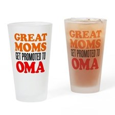 Promoted To Oma Drinkware Drinking Glass
