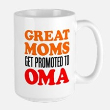 Promoted To Oma Drinkware Mugs