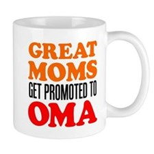 Promoted To Oma Drinkware Mugs