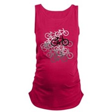 Bicycles Maternity Tank Top