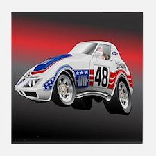 LeMans Endurance Racer 1972 Tile Coaster
