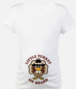 Little Turkey On Board Shirt