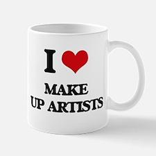 I love Make Up Artists Mugs