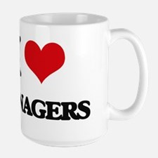 I love Managers Mugs