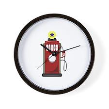Gas Pump Wall Clock