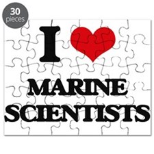 I love Marine Scientists Puzzle