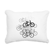 Bicycles Rectangular Canvas Pillow
